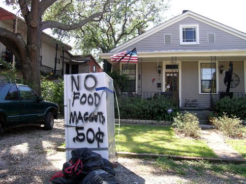 Messages Left After Hurricane Katrina
