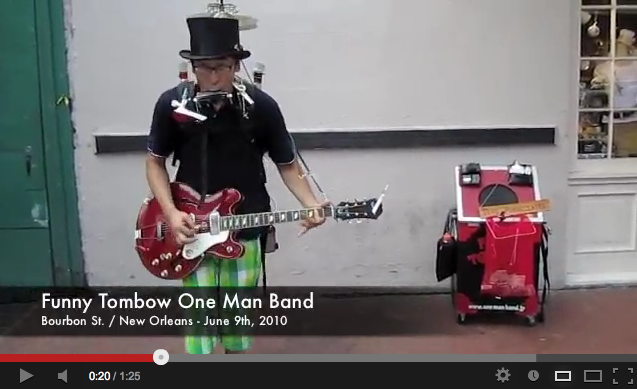 Funny Tombow One Man Band